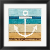 Framed Beachscape III Anchor