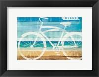 Framed Beachscape Cruiser II