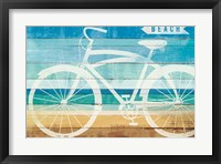Framed Beachscape Cruiser II