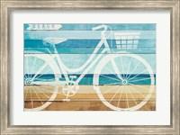 Framed Beachscape Cruiser I
