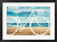 Framed Beachscape Cruiser I