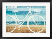 Beachscape Cruiser I Framed Print
