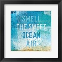 Framed Beachscape Abstract II