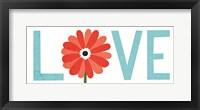 Framed Seaside Bouquet Love