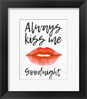 Framed Lips - Kiss Me Goodnight