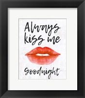 Framed Lips - Kiss Me Goodnight
