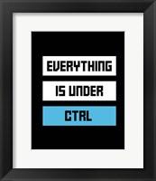 Framed Everything Under Control