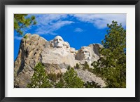 Framed South Dakota, Mount Rushmore National Memorial