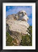 Framed George Washington, Mount Rushmore, South Dakota