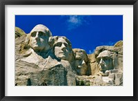 Framed Mount Rushmore in South Dakota