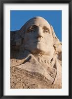 Framed South Dakota, Mount Rushmore, George Washington