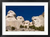 Framed Mount Rushmore, Keystone, Black Hills, South Dakota