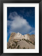 Framed USA, South Dakota, Black Hills, Mount Rushmore National Memorial