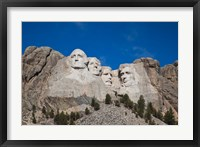 Framed Mount Rushmore National Memorial, South Dakota