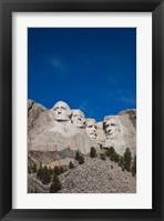 Framed Mount Rushmore National Memorial, Keystone, South Dakota