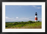 Framed Massachusetts, Nantucket, Sankaty lighthouse
