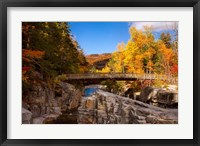 Framed Bridge, Swift River Waterfalls, New Hampshire