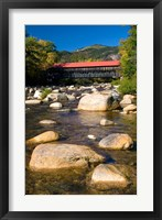 Framed Covered bridge, Swift River, New Hampshire