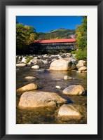 Framed Covered bridge, Swift River, New Hampshire