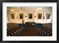 Framed Concord Capitol building, New Hampshire