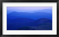 Framed View From Mt Monroe on Crawford Path, White Mountains, New Hampshire