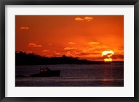 Framed Sunrise at the Mouth of Piscataqua River, New Hampshire