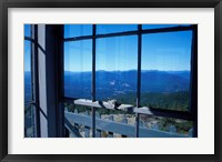 Framed Kearsarge North, View From Inside the Fire Tower, New Hampshire