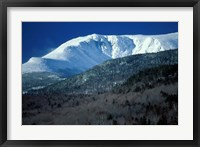 Framed Huntington Ravine From the Glen House Site in the White Mountains, New Hampshire