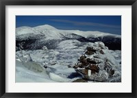 Framed Appalachian Trail in Winter, White Mountains' Presidential Range, New Hampshire