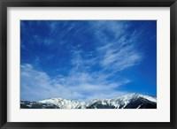 Framed Franconia Ridge, White Mountains, New Hampshire