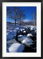Framed Wildcat River, New Hampshire