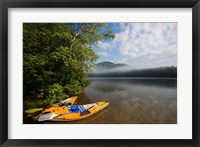 Framed Kayak, Mirror Lake, Woodstock New Hampshire