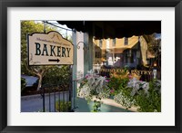 Framed Bakery at Mill Falls Marketplace in Meredith, New Hampshire