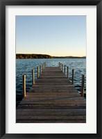 Framed Lake Winnipesauke, New Hampshire