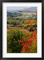 Framed View from NH Route 145 in Stewartstown, New Hampshire