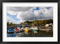 Framed Sunapee Harbor, Lake Sunapee, New Hampshire