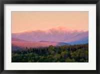 Framed Mt Washington White Mountains New Hampshire