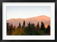 Framed Mount Washington and the Presidential Range, White Mountains, New Hampshire