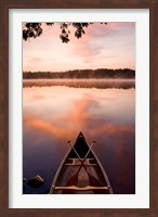 Framed Pawtuckaway Lake, New Hampshire