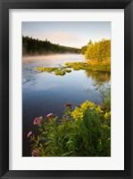 Framed Androscoggin River, Errol, New Hampshire