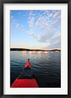 Framed Kayak, sailboats, Portsmouth, New Hampshire