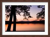 Framed White Lake State Park, New Hampshire