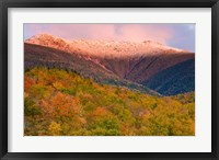 Framed Autumn, Mt Lafayette, New Hampshire