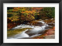 Framed Pemigewasset River, New Hampshire