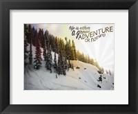 Framed Great Adventure