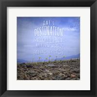 Framed Ones Destination