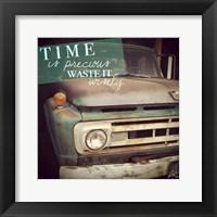 Framed Precious Time