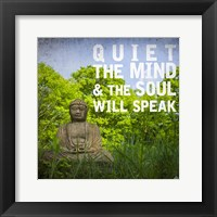 Framed Quiet the Mind