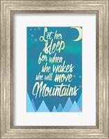 Framed She Will Move Mountains 2