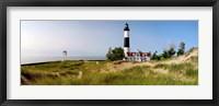 Framed Big Sable Point Lighthouse, Lake Michigan